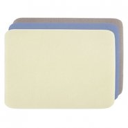 Beadalon Perlen Matte 23x30cm 3-pack Yellow, Blue, Beige