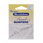 Beadalon Bead Bumpers 1.5mm White
