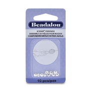 Beadalon Scrimps 4.5mm Silver