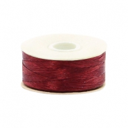Beadalon Nymo Wire 0.3mm Shoe Red