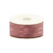 Beadalon Nymo Wire 0.3mm Dusty Mauve