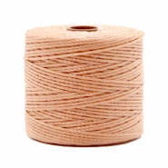 Nylon S-Lon Kordel 0.6mm Vintage rose brown