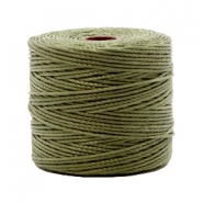 Nylon S-Lon Kordel 0.6mm Olive green