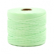Nylon S-Lon Kordel 0.6mm Pastel mint green