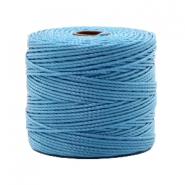 Nylon S-Lon Kordel 0.6mm Caroline blue