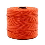 Nylon S-Lon Kordel 0.6mm Dusty red-orange