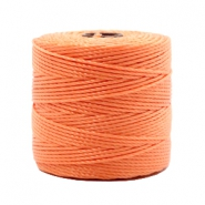 Nylon S-Lon Kordel 0.6mm Peach orange