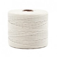 Nylon S-Lon Kordel 0.6mm Off white