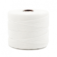 Nylon S-Lon Kordel 0.6mm White