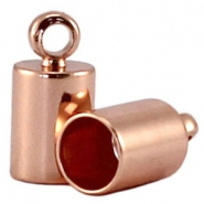 Endkappen DQ 4mm DQ Rose Gold plated
