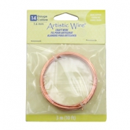 14 Gauge Artistic Wire Bare copper
