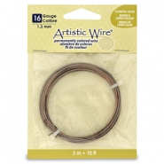 16 Gauge Artistic Wire Antique brass