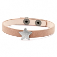 Armbänder mit Stern Light brown