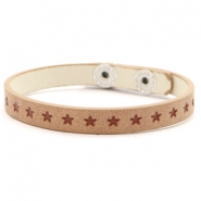 Armbänder Sterne Light brown