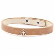 Armbänder mit Anker Light brown