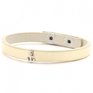 Armbänder mit Anker Soft yellow gold