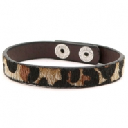 Armbänder Leopard Brown