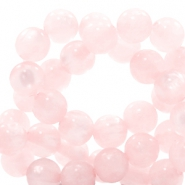 Polaris Perlen 6 mm rund pearl shine Whisper pink