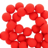 8 mm Acryl Perlen Crimson red