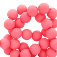 10 mm Acryl Perlen Deep pink