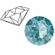 Swarovski Elements 1088-SS39 Chaton (8mm) Light turquoise