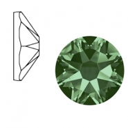 Swarovski Elements 2088-SS34 flat back (7mm) Xirius Rose Erinite green
