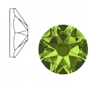 Swarovski Elements 2088-SS34 flat back (7mm) Xirius Rose Olivine green