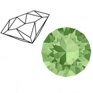 Swarovski Elements 1088-SS29 Chaton (6.2mm) Peridot green