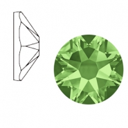 Swarovski Elements 2088-SS34 flat back (7mm) Xirius Rose Peridot green