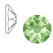 Swarovski Elements 2088-SS34 flat back (7mm) Xirius Rose Chrysolite green