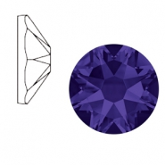 Swarovski Elements 2088-SS34 flat back (7mm) Xirius Rose Purple velvet