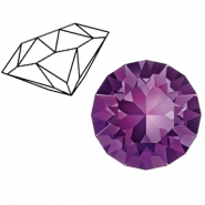 Swarovski Elements 1088-SS39 Chaton (8mm) Amethyst purple