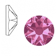 Swarovski Elements 2088-SS34 flat back (7mm) Xirius Rose Rose