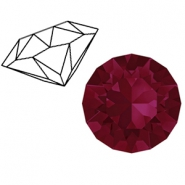 Swarovski Elements 1088-SS29 Chaton (6.2mm) Ruby red