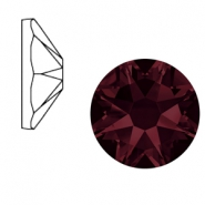 Swarovski Elements 2088-SS34 flat back (7mm) Xirius Rose Burgundy Red