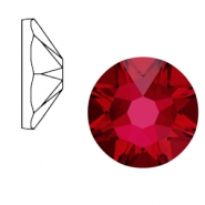 Swarovski Elements 2088-SS34 flat back (7mm) Xirius Rose Scarlet red