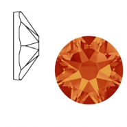 Swarovski Elements 2088-SS34 flat back (7mm) Xirius Rose Fire opal orange