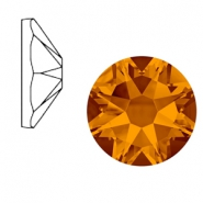 Swarovski Elements 2088-SS34 flat back (7mm) Xirius Rose Tangerine orange