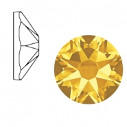 Swarovski Elements 2088-SS34 flat back (7mm) Xirius Rose Sunflower yellow