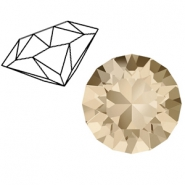 Swarovski Elements 1088-SS29 Chaton (6.2mm) Light silk beige
