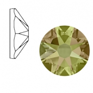 Swarovski Elements 2088-SS34 flat back (7mm) Xirius Rose Crystal luminous green