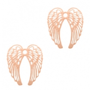 Bohemian Anhänger Angel Wings Rosegold