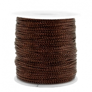 Trendy Kordel Metalstyle Wire 0.5mm Copper brown