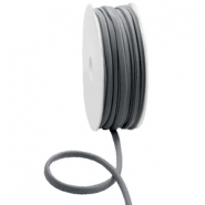 Gestepptes Elastisches Band Ibiza Anthracite grey