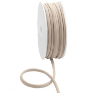 Gestepptes Elastisches Band Ibiza Hazel natural brown