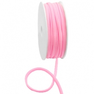 Gestepptes Elastisches Band Ibiza Light pink
