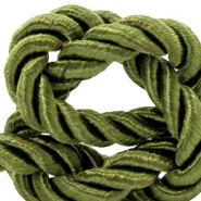 Trendy Kordel Weave 10mm Olive green