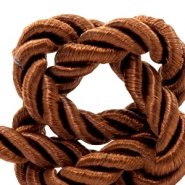 Trendy Kordel Weave 6mm Light chocolate brown