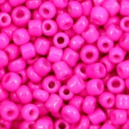 Glasperlen Rocailles 6/0 (4mm) Shocking pink