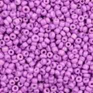 Glasperlen Rocailles 12/0 (2mm) Medium purple